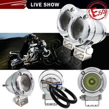 Small 12 volt led lights motorcycles snowbike spot floodlight 10W,led drivinglights for yamaha r1 2004