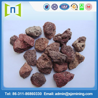 red volcanic pumice stone for water conservancy