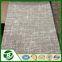 Wholesale cheap blackout linen window curtain panel for meeting room