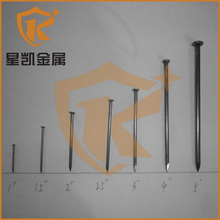 long service life competive price China 4 inch round nail with head