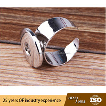 2015 handmade DIY finger ring fit snap button size you change