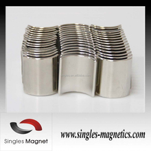 Strong for motor Rare Earth Arc make Ring magnet permanent Neodymium monopole magnet