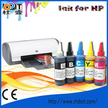 2012 Newest! CMYK DYE Printing Ink,for hp ink