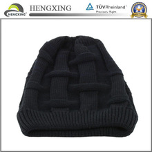Cheap Custom Men Winter Jacquard Knitting Hats Knitted Beanie Cap
