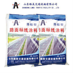 low price reflective white thermoplastic road marking paint