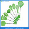 2015 Hot Sale food grade silicone kitchen tool set/silicone kitchen accessories
