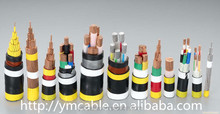 Underground cable copper conductor XLPE insulation Steel Wire/type Armoured poweer cable