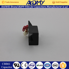 Hot Sale ADMY Factory direct new design wire lead cbb61 capacitor wholesale