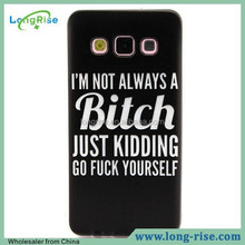 Best Price for Samsung Galaxy A3 Case, Abusesb Words TPU Case for Samsung Galaxy A300 A3 SM-A300F