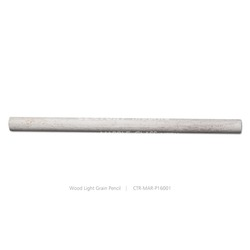 high quality wood light grain marble pencil for wall decoration