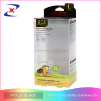 Newest China Printed soft crease clear plastic PVC box