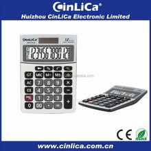 mini desk calculator with two power 12 digit calculator