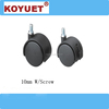 China Firm Mattress Caster Furniture nylon castor & wheel for office chair