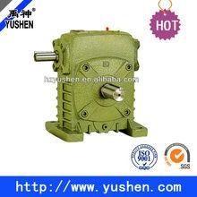High heat-radiating efficiency WPS worm gear speed reducer