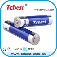 Factory direct price of 1.5v LR03 aaa AM4 1050mah alkaline dry battery for Mouse Keyboard