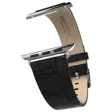 2015 Handmade 100% Crocodile Alligator Genuine Leather for Apple Watch Strap