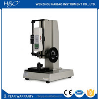 500N manual wheel style universal pull testing machine for button, learher etc.