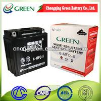 best quality Sealed 12v battery for Motor auto supplier 12volt