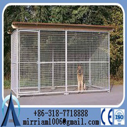 Manufacturer wholesale welded wire mesh large dog cage/dog run kennels
