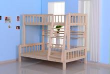 good looking bunk bed ,wood slat base bunk bed