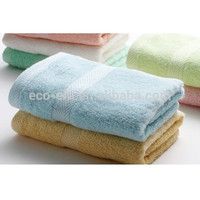 Bamboo Products Wholesale , 100% Bamboo Fiber Hand Towel 34*76 cm , Order Mixed Colors & Sizes Prompt Delivery