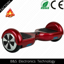 2015 Hottest Sale 6.5 inch Electric self balancing scooter with bluetooth CE ROHS