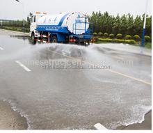 white 10 wheel Water sprinker truck, 8000L Water bowser tank capacity sale in Zambia