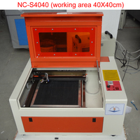 NC-S4040 china Jinan factory quality mini co2 cutting wood laser engraving machine for sale