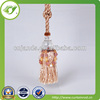 2015 fancy popular beaded curtain tassel with cheap price