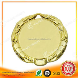 Factory Direct medal sport with bronze plated, fast delivery