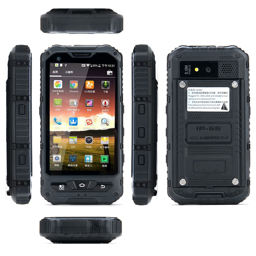Gps Navigation Android Phone With Qwerty Keyboard Waterproof Rugged Mobile