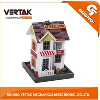 Professional garden supplier wooden bird nest , wooden bird house , wooden decorated bird house