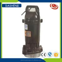 QDX Portable sewage submersible pump 1.5HP
