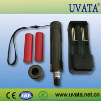 2015 Hot Sale! High output UV LED flashlight for curing adhesives