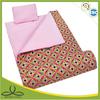 Colorful tropical stule indoor children plush sleeping bag