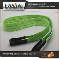 50MM-300MM Polyester Lifting Webbing Sling