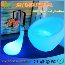 new product PE rechargeable RGB color changeable IP68 Waterproof durable remote control Lounge Seat