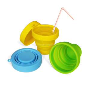 Offres Spéciales Camping Pliable Silicone Tube Souple Tasse