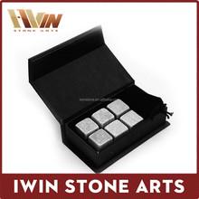 cheap Whiskey Rocks in Gift Set with Velvet Bag, whiskey stones ,wholesale whiskey stones