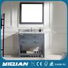 New Marble Top Vanity Free standing Cabinet Modern Solid Wood Bathroom Furniture