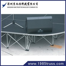 on sale easy install cheap aluminum stage from shenzhen factory