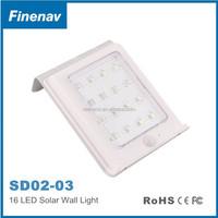 16 LED Super Bright Waterproof Solar Powered Motion Sensor Outdoor Garden Light