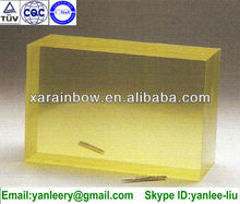 shielding lead glass for medical use CT scanner