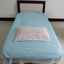 cheap hot selling products wholesale disposable nonwoven medical white bed sheets for hotel and hospital