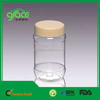 A12-2 clear plastic candy jar