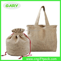 Manufacture Wholesale Burlap Bags With Handles