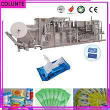 5-30pcs full automatic wet tissues folding and wipes packing making machines