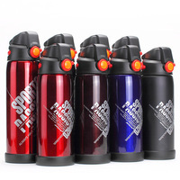 Double wall vacuum insulated stainless steel water bottle keeps drinks cold for up to 24 hours and hot for up to 12 hours