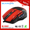 Three Level DPI Switchable Weight Metal Inside Professional 7D Gaming Mouse