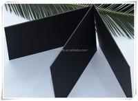 laminated duplex Offset Black art Paper/Black duplex cardboard